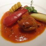 GINTO - 若鶏のカチャトラ 季節野菜と共に
