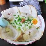 岡山らぁめん 麺屋照清 - 塩チャーシュー