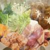 魚に鍋に炭火焼 いちかわ 藤 - 料理写真:絶品つくねの鶏すき鍋