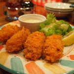 Oyster Bar ジャックポット - 牡蠣フライ