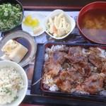 合正ガーデン - ステーキ重定食