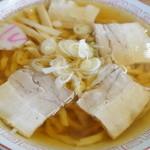 Shokudounamae - 料理写真:極太手打ちチャーシューメン(620円)