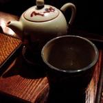 黒猫夜 - お茶も中国ぽくてステキ