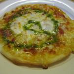 あんぷ~ - 2皿目はピザ