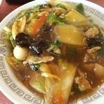 銀座亭 - ご近所イタリアンが台風のため休みなので、ご近所中華丼