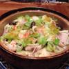 創作居酒屋 人(JIN) - 料理写真:キャベツと豚の酒蒸し キャベツの甘みと豚のコクがとても美味しい冬の定番料理