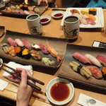 築地玉寿司 - 料理たち