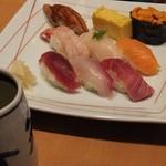 築地玉寿司 - 小町にぎり:1800円