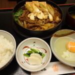 木曽路 - 松茸すき焼き定食