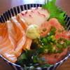 海鮮処 ふくまさ - 料理写真:日替3色丼