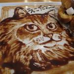 cica - カフェ・モカのフレンチ・トースト+チョコレート・ソースのえこだねこパパ4
