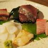 そらや - 料理写真:600円『刺身盛り』2014年10月吉日
