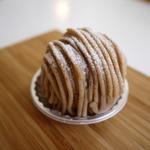 シェ・ミオ - 料理写真:和栗のモンブラン
