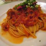 プレゴ ドゥエ - ツナトマトのスパゲティ