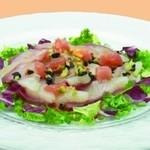 銀座 スウィング - 本日の鮮魚のカルパッチョ