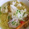 珊 - 料理写真:海老ワンタン麺(塩)