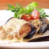 ザ・キッチン - 料理写真:名古屋コーチンと茄子のチーズミルフィーユグリル 八丁味噌ソース