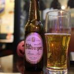 トラットリア シェ ラパン - ベルギービールBitbuger