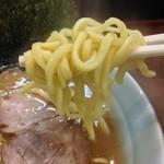 寿々喜家 - 700えん『ラーメン(並)(麺かため指定)』2014.10