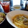 スターハーバークラブ - 料理写真:アンチョビとあさりのスパゲッティー(ランチ¥800)サラダ、スープ、ドリンク、デザート付~
