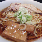 人類みな麺類 - 料理写真:1-1)らーめん原点(800円)