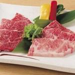 和牛カルビ屋 朱苑 - いわて純情牛の特徴は余韻の残るコクとさっぱりとした後味。