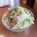 ハヌマン - ランチのサラダ