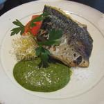 御料理 梅田 - メインの魚料理。
