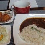 シャララ - ☆私のカレーライスセット+唐揚げ☆ランチパスポート9