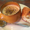 サレ・ポワヴレ・ウノ - 料理写真:ベニアズマのスープ