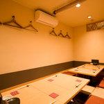 こきづ - お座敷席は、宴会や接待にぴったりです。