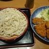 和風レストラン とき - 料理写真:ひれかつ(¥1200)+もりうどん(¥600)
