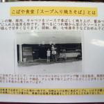 こばや食堂 - こばや食堂(開発の歴史)