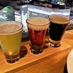 クラフトビアハウスモルト - 地ビールの飲み比べ