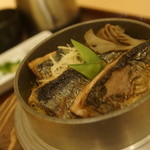 ふく亭 - 秋刀魚釜飯