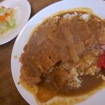 洋食 大かわ - サービスランチ(カツカレー)800円