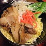 うどん茶屋北斗 - 【ミニ芋豚丼(600円)】