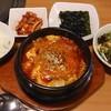 まる - 料理写真:焼肉 韓国料理 まる ランチ 純豆腐チゲ 800円(税込)