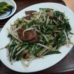ふじいち食堂 - 料理写真:レバニラ炒め