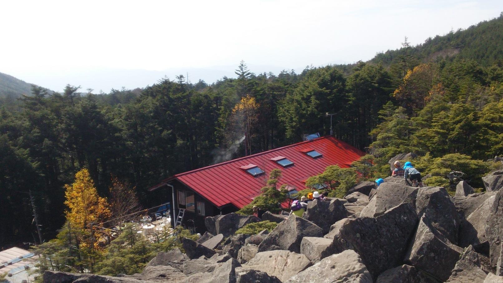 高見石小屋