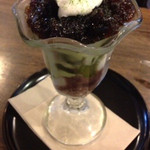 ジゅんベリーCafe - 抹茶パフェ