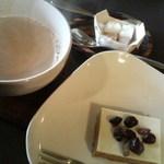 カフェ エチカ - 大人のキャラメルチーズケーキ ,カフェ・オレ