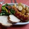 ランドカフェ - 料理写真:ソーセージセット