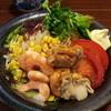 シーザ - 料理写真:ラーメンサラダ 900yen