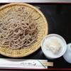 奥乃屋 - 料理写真:せいろは二種類 常陸秋そば粗挽き、北海道産のキタワセを使用しています。