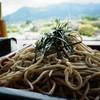 久木野そば道場 - 料理写真:エエ感じのそばなんやけど、俺の好みからすると、もう少し硬めで、汁が濃いほうがエエ