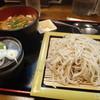 暁庵 - 料理写真:レー丼のセットを冷たいそばで