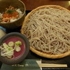 蕎麦ダイニング杜 - 料理写真:せいろ蕎麦と日替わり小丼(大盛り)¥680