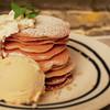 cafe eight - 料理写真:バナナパンケーキ