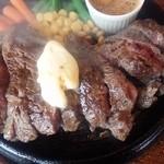 がっつりステーキ - 1ポンドステーキ
